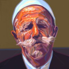 ALBANIEN Serie Gesichter der Erde Alter Mann