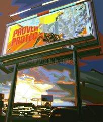 BILLBOARD USA Werbung Los Angeles