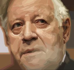 Helmut Schmidt Altkanzler Bundeskanzler Politiker Serie Portrait