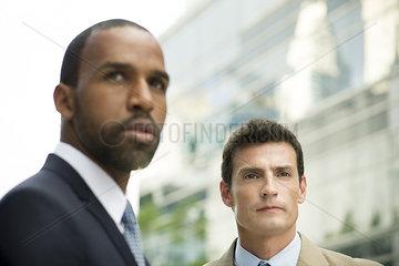 Business partners outdoors  portrait