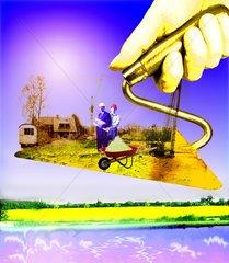 Kelle Hausbau handwerker Natur natuerlich bauen