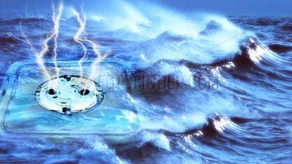 Steckdose Wellen Meer Alternative Energien
