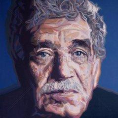 Serie Portrait Gabriel José García Márquez Dichter Venezuela