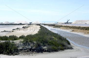 Salt Evaporation in the Camargue