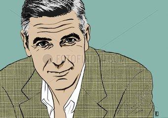 George Clooney Schauspieler Film Star Celebrity VIP