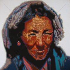TIBET Serie Gesichter der Erde