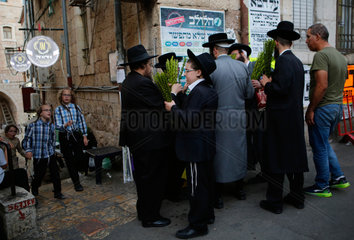MIDEAST-JERUSALEM-SUKKOT-PREPARATION