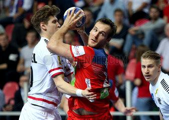 (SP)CROATIA-POREC-HANDBALL-EHF EURO 2018-NOR VS AUT