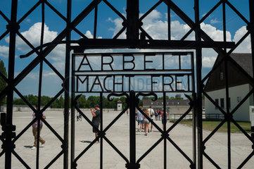 Dachau  Deutschland  Eingangstor zum ehemaligen KZ Dachau