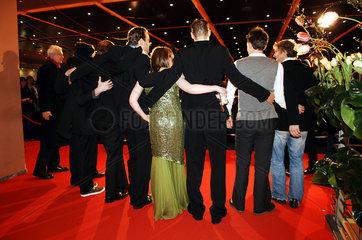 Photocall auf Berlinale 2005  Rueckansicht