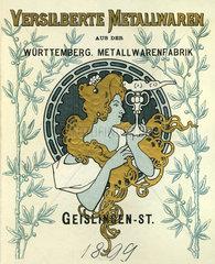 WMF  Werbung  1899