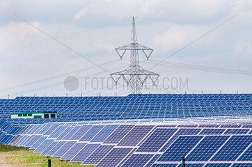Solarpark Q-Cells