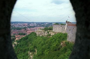 Die Zitadelle Besancon  im Osten Frankreichs
