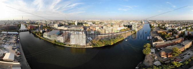 Luftbild Panorama Berlin Kreuzberg