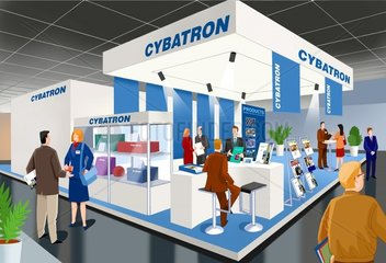 Messe Messestand
