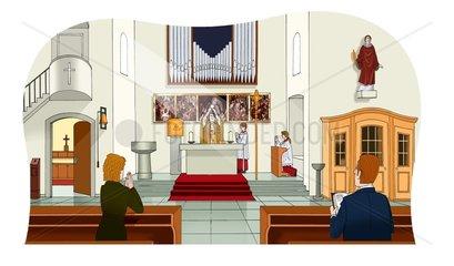 Kirche Glauben Religion