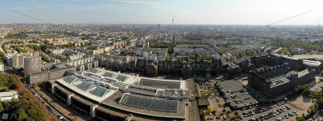 Luftbild Panorama Berlin Humboldthain