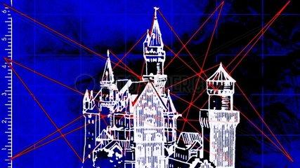 Blaupause Laser Neuschwanstein Kopie