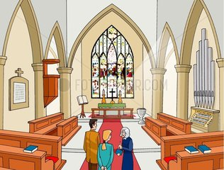 Kirche Altar