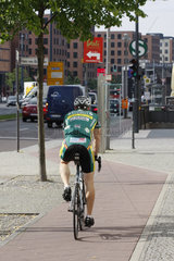 Just Fit. Radfahrer in Berlin