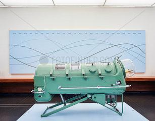 Eiserne Lunge im Hygienemuseum Dresden