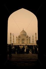 Taj Mahal  Agra  Nordindien  Indien  Asien - Taj Mahal  Agra  North India  India  Asia