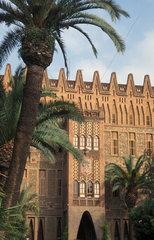 Gaudi-Gebaeude Colegio de las Teresianas in Barcelona