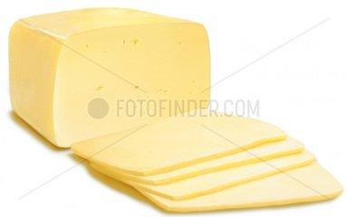 Edamer Kaese Stueck Milchprodukt Essen Food