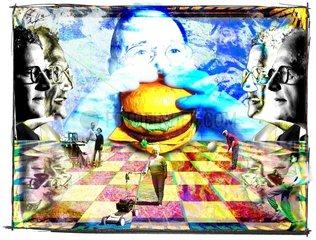 Fitness Hamburger Genuss Lebensalter Rente