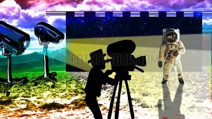 Apollo Mondlandung Zweifel Film Kamera 2