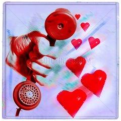 verliebt telefon telefonieren