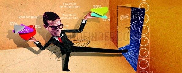 Mischfonds Geldanlage Aktien Rendite Spekulation