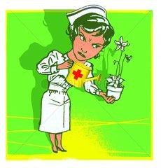 Schwester Freizeit Zusatzleistungen Blumenpflege 2