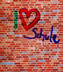 Schule Ausbildung Mauer Liebe Motivation