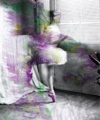 Serie Ballett Taenzerin Bewegung Schoenheit Kultur 2 Spitzentanz
