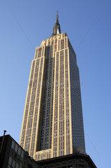 State Empire Building  New York  USA