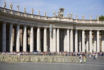 Rom  Petersplatz