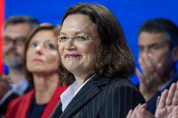 Anrea Nahles - Schlechte Stimmung nach der Wahlschlappe der SPD