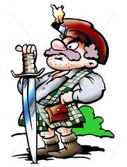 Serie Schotte mit Schwert 2