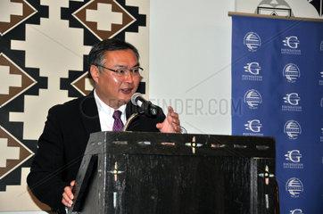 U.S.-NEW MEXICO-SANTA FE-GOVERNORS-FORUM-CHINA
