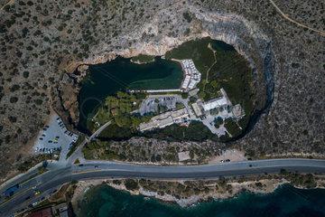 GREECE-ATHENS-VOULIAGMENI LAKE
