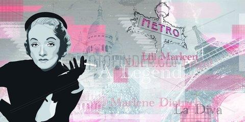 Serie Divas Marlene Dietrich