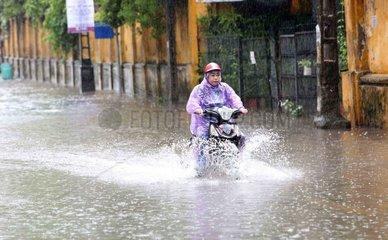 VIETNAM-HANOI-FLOOD