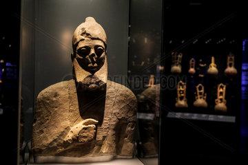 GREECE-ATHENS-MUSEUM-CYCLADIC ART