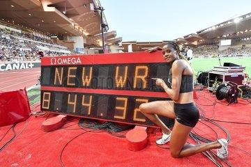(SP)MONACO-FONTVIEILLE-ATHLETICS-IAAF-DIAMOND LEAGUE