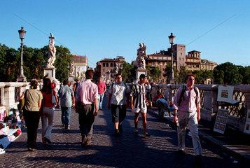 Rom  die Ponte Sant' Angelo
