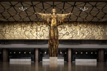 Sofia  Bulgarien  Statur der Heiligen Sofia im Nationalen Kulturpalast NDK
