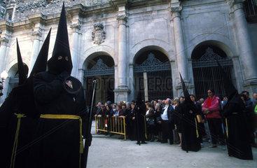 Semana Santa-Prozession in Barcelona