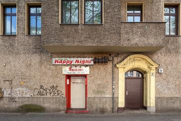 Berlin  Deutschland  Sex-Kino in der Exerzierstrasse in Berlin-Wedding