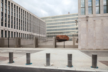 Berlin  Deutschland  Neubau des Bundesnachrichtendienstes in der Chausseestrasse in Berlin-Mitte